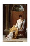 Portrait of Juliette Recamier, 1805 Giclee Print by Francois Pascal Simon Gerard