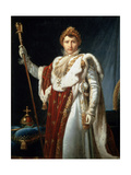 Portrait of Emperor Napoléon I Bonaparte, C1804 Giclee Print by Francois Pascal Simon Gerard