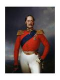 Portrait of Emperor Nicholas I, (1796-185), 1847 Giclee Print by Franz Kruger