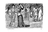 A Conscious Martyr, 1881 Giclee-trykk av George Du Maurier