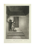 The Glow Worm, a Watchman with His Lantern in Lansdown Passage, Westminster, London, C1820 Giclee Print by George Hayter