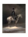Cossack on Horseback, 1837 Giclee Print by Franz Kruger