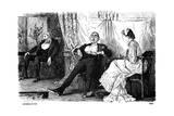 Consolation, 1880 Giclee-trykk av George Du Maurier