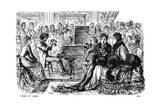 Music at Home, 1885 Giclee-trykk av George Du Maurier