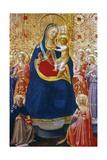 Madonna and Child with Saints, Mid 15th Century Giclée-vedos tekijänä  Fra Angelico