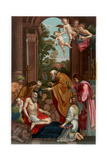 Last Communion of Saint Jerome, 1614 Giclee Print by Franz Kellerhoven