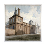View of the British Museum, Bloomsbury, London, C1807 Giclee Print by Frederick Nash