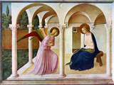 The Annunciation, C1438-1445, (C1900-192) Impressão giclée por  Fra Angelico