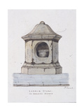 London Stone, Cannon Street, London, C1816 Giclee Print by Frederick Nash