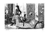 Induction, 1878 Giclee-trykk av George Du Maurier