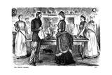 The Festive Season, 1883 Giclee-trykk av George Du Maurier