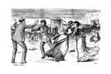 Social Beings, 1876 Giclee-trykk av George Du Maurier