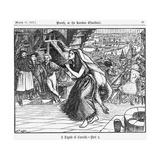 A Legend of Camelot - Part 2, 1866 Giclee-trykk av George Du Maurier