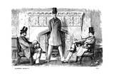 Alarming Scarcity, 1874 Giclee-trykk av George Du Maurier