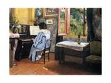 Lady at the Piano, 1904 Impressão giclée por Félix Vallotton