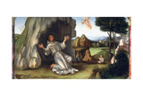 St Francis Receiving the Stigmata, Late 15th-Early 16th Century Giclee Print by Francesco Francia