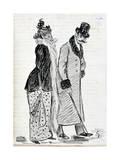 The Couple, C1870-1893 Reproduction procédé giclée par Guy De Maupassant