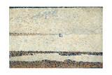 Beach at Gravelines, 1890 Reproduction procédé giclée par Georges Seurat