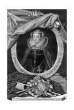 Mary, Queen of Scots, (173) Giclée-Druck von George Vertue