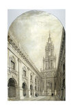 Design for the New Royal Exchange, 1839 Giclee Print by Frederick Mackenzie