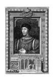 Henry VI of England, (18th Centur) Giclée-Druck von George Vertue