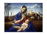 The Madonna of the Meadow, C1500 Giclée-Druck von Giovanni Bellini