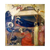 The Epiphany, C1230 Giclée-tryk af  Giotto