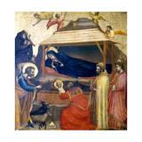 The Epiphany, C1230 Lámina giclée prémium por  Giotto