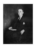 William Brockman Bankhead, Speaker of the House of Representatives, C1937 Giclee-trykk av Howard Chandler Christy