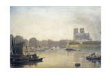 Notre Dame, Paris, 19th Century Giclee Print by Frederick Nash