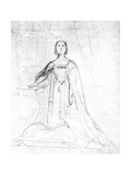 Queen Victoria Taking the Coronation Oath, 1837 Giclee Print by George Hayter