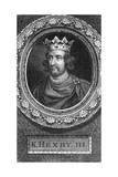 Henry III of England Giclée-Druck von George Vertue