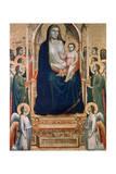 Madonna and Child Enthroned, C1300-1303 Lámina giclée por  Giotto