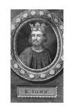 John of England Giclée-Druck von George Vertue