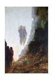 Angels of Sodom, C1846-1898 Giclee Print by Gustave Moreau