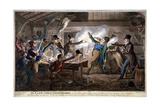 The Cato Street Conspirators..., 1820 Lámina giclée por George Cruikshank