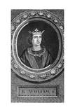King William II Giclée-Druck von George Vertue