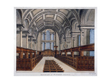 Interior View Looking East, St James's Church, Piccadilly, London, 1806 Giclee Print by Frederick Nash