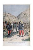 Uniforms of the French Expeditionary Force in Madagascar, 1895 Giclee Print by Henri Meyer