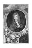 Robert Boyle, 17th Century Irish Chemist and Physicist, 1739 Giclée-Druck von George Vertue