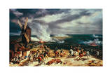 The Battle of Valmy, 20 September, 1792 Giclée-Druck von Horace Vernet