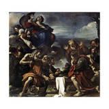 The Assumption of the Blessed Virgin Mary, 1623 Lámina giclée por  Guercino