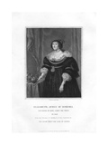 Elizabeth, Electress Palatine and Queen of Bohemia Giclee Print by Henry Thomas Ryall