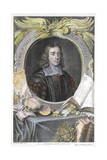 Thomas Willis, 17th Century English Physician, 1742 Giclée-Druck von George Vertue