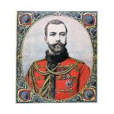 Tsar Nicholas II of Russia, 1894 Impressão giclée por Henri Meyer