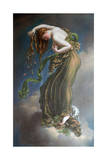 Autumn, C1887- 1924 Giclée-tryk af Anne-Louis Girodet de Roussy-Trioson