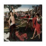 Martyrdom of St Sebastian Giclee Print by Hans Memling
