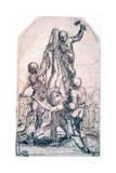 Crucifixion of St Peter, C1600-1642 Impressão giclée por Guido Reni