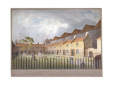 View of Buildings in Park Street, Southwark, London, 1808 Giclee Print by George Smith