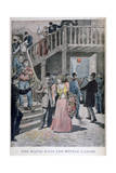 Arrest of Prostitutes in a Parisian Hotel, 1895 Giclee Print by Henri Meyer